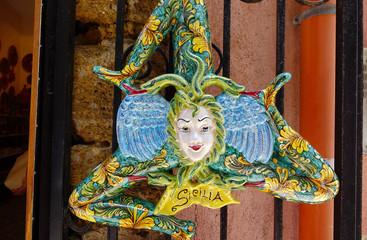 La Trinacria, symbole de la sicile