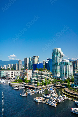 Foto op Canvas Canada Beautiful view of Vancouver, British Columbia, Canada