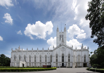 Beautiful St. Paul's Cathedral of Kolkata