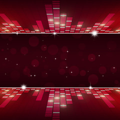 Music Equalizer Party Background