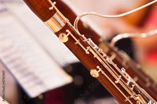 Fragment bassoons in a symphony orchestra - 67163867