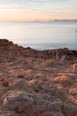 Pier in Formentera