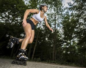 Inline Skaterin