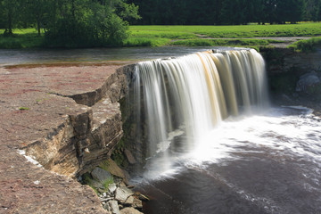 Jagala waterfall (Jagala Juga), Estonia