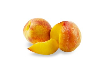 Juicy peaches