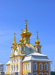 Orthodox church in St. Petersburg