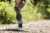 Läuferbeine eines Triathleten