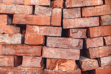 bricks, warehouse, construction  site