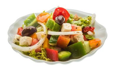 Delicous greek salad