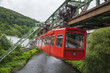 Red wagon of Wuppertal Suspension Railway - 67167258