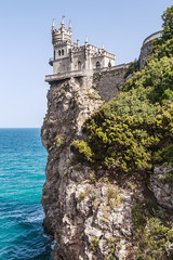 View of the Swallow's Nest in Crimea