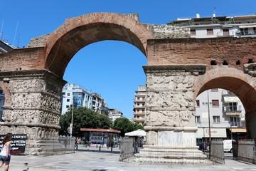 Arch of Galerius , Thessaloniki, Greece
