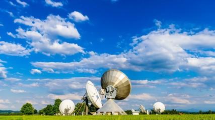 Timelap - Wolken und Technik