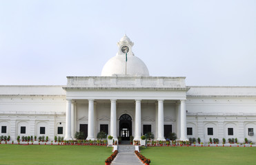 Closeup of ancient administrative building of IIT Roorkee