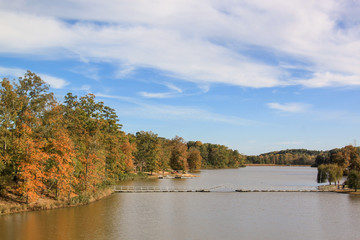 Autumn Lake I