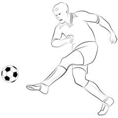 Fußballer - Fußballspieler