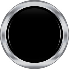 Black silver button.