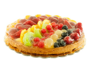 cake of fruit