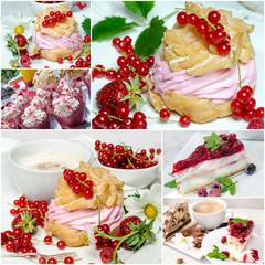 Kaffe-Kränzchen: Leckere Sommer-Kuchen und Früchte :)