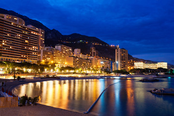 Monte Carlo at Night, Monaco