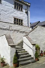 Plas Mawr in Conwy North Wales