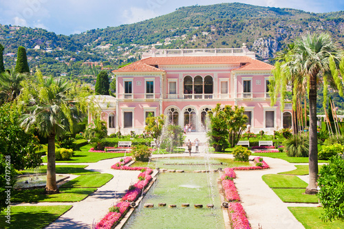 Garden in Villa Ephrussi de Rothschild, Saint-Jean-Cap-Ferrat - 67172628