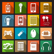 Gadget Icons Flat