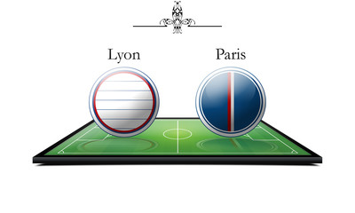 Lyon vs Paris