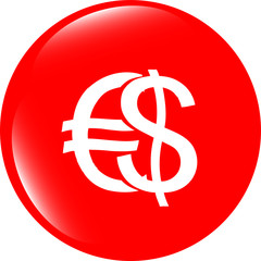 button money sign, icon isolated on white