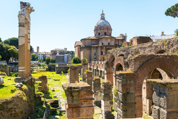 Forum of Caesar in Rome