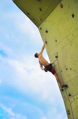 muscular  climber