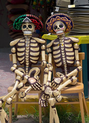 Mexican Day of the Dead Skeletons