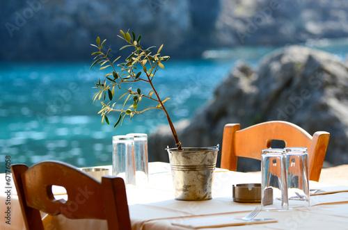 Greek tavern concept © Aleksandar Mijatovic