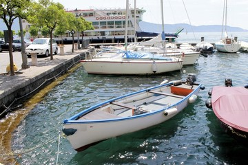 marina on Lake Garda in Italy