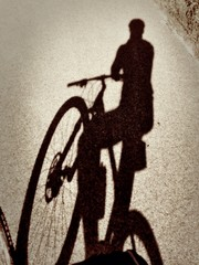 magic biker's shadow