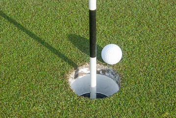 Golf Ball and Marker