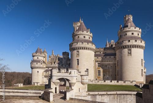 Papiers peints Chateau Château de Pierrefonds