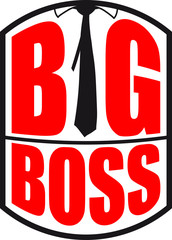 Cool Big Boss Tie Design