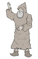 Hello monk