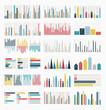 Big set of infographics elements