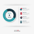 Modern business Infographics Template, Vector EPS10