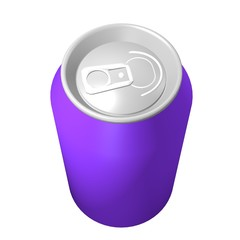Purple can