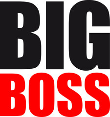 Big Boss Logo Design