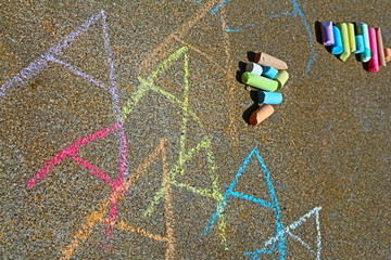 Chalk Full of A's