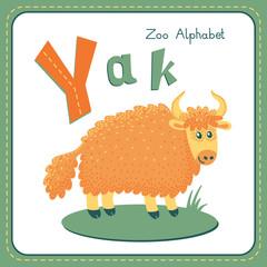 Letter Y - Yak