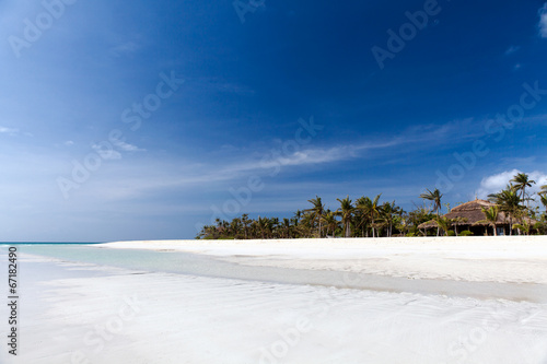 canvas print picture White Beach