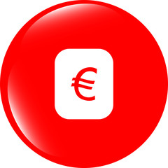 Currency exchange sign icon. Currency converter symbol