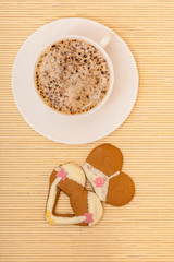 Cup coffee bikini underwear gingerbread cake
