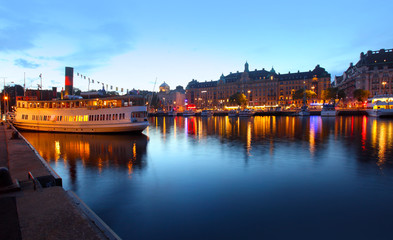 View of Stockholm city
