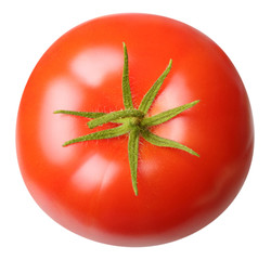 Red tomato isolated